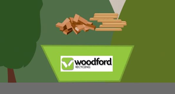 Woodford Recycling 6 Yard Skip