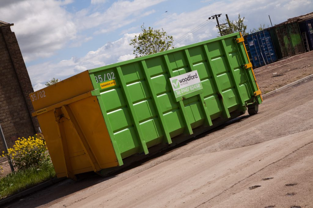 woodford-recycling-roll-on-roll-off-skip-RORO-container