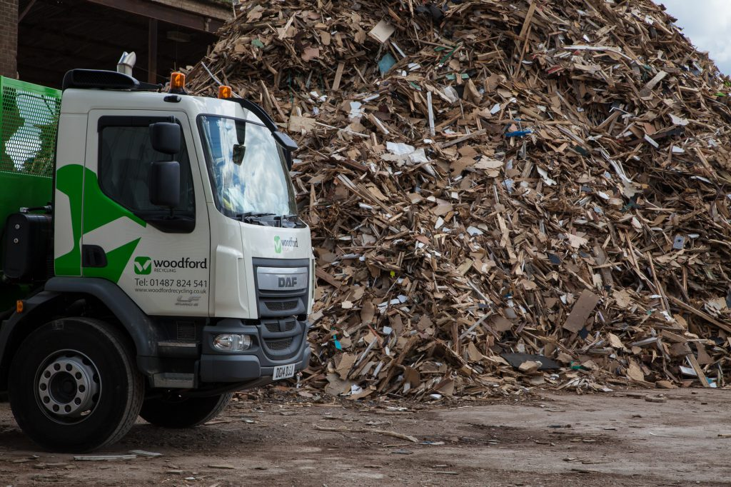 woodford-recycling-services-recycling-process-vehicle